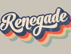 How To Create a Retro Style Striped Logo Type Effect creating a striped type effect in Illustrator, citing a retro style logo as an example. I was sure I'd created a similar effect in a recent tutorial, but it turned out to be the title art I produced … Retro Logos, Retro Font, Vintage Logos, Retro Vintage, Vintage Type, Vintage Typography, Groovy Font, Vintage Logo Design, Vintage Branding
