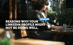 LinkedIn isn't working for you? Here are the few possible reasons why some LinkedIn profiles doesn't get profile views and connection requests. Profile View, Connection, Wellness, Marketing