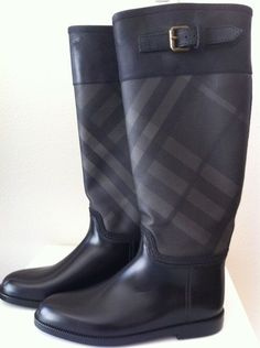 Burberry Boots.