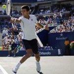 Djokovic gives Mathieu no chance.
