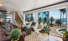 Pandora is our premier furnished beachfront apartment in Santa Barbara.