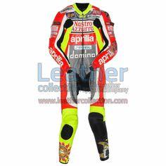 Valentino Rossi Aprilia GP 1999 Leathers for $629.30 - https://www.leathercollection.com/en-we/valentino-rossi-aprilia-1999-leathers.html