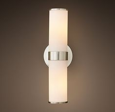 Sutton Double Sconce  three of these lights would give you a great amount of light