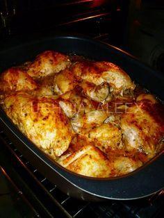 W mojej kuchni: Kurczak po zbójnicku wg Aleex Polish Recipes, Polish Food, Catering, Main Dishes, Chicken Recipes, Dinner Recipes, Food And Drink, Cooking Recipes, Meals