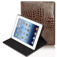 Elegant glossy case with foldable design that works as a viewing stand Made from premium PU leather designed for long-lasting use and protection Helps you save on battery life as it supports the auto on/off function of your smartphone Ipad 3 Cases, Ipad Covers, Iphone 4, Apple Iphone, Iphone Cases, Gadgets Online, Latest Games, Mobile Phone Cases