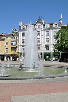 Center of Plovdiv, Bulgaria