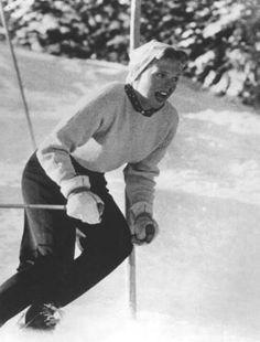 Jill Kinmont uma grande esquiadora americana