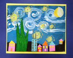 Starry Night Inspiration...3 day project