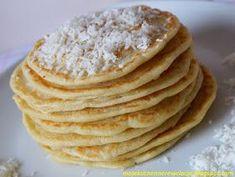 racuchy kokosowe Polish Recipes, Polish Food, Pancakes, Pizza, Lunch, Breakfast, Ethnic Recipes, Pierogi, Pancake Recipes
