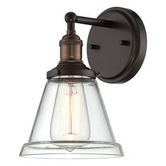 Shop Nuvo Lighting  1 Light Vintage Wall Sconce at ATG Stores. Browse our wall sconces, all with free shipping and best price guaranteed.