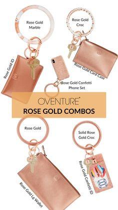 Gold Rush Passport Holder /& Key ring Christmas Gift Set