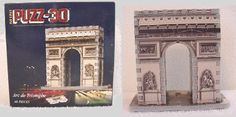 mini wrebbit 3d puzzle Arc de Triumphe w/ 46 pcs