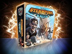 Need more reviews. Rahdo is the prototype and the final components make a difference.  Steampunk Rally | Image | BoardGameGeek