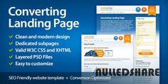 ThemeForest – Converting – Landing Page