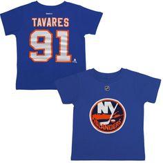 John Tavares New York Islanders Reebok Preschool Name & Number T-Shirt - Royal Blue