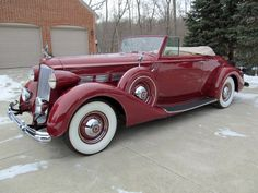 1937 Packard Super 8 Model 1501 Convertible Coupe Roadster. ★。☆。JpM ENTERTAINMENT ☆。★。