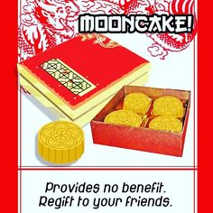 Mooncakes! Just for giving and re-giving to your friends! One of the cards in Takeout #indiegames #indiedev #cardgames #gamedev #china #老外 #月饼 #smallmonstersgames #cardgames #instabest