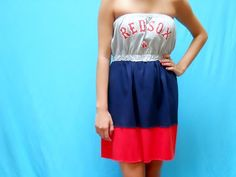 Boston Red Sox Game Day Dress