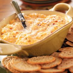 Cheese Dip Recipes from Taste of Home, including Baked Onion Cheese Dip Recipe
