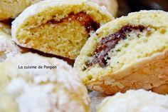 Biscuit craquelé à la pâte à tartiner chocolat, noisette, citron et coriandre