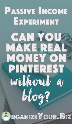 Cn you really make money on Pinterest working from home, without having a blog?