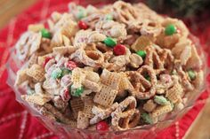 Love this stuff! Only difference, I use Christmas Captian Crunch in place of chex mix. bebe a la mode designs: A No Bake Christmas