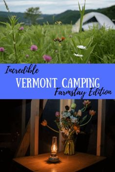 The Vermont camping season is short, and for a small state, there are some beautiful places to lay your head. Here's why we love Vermont farm camping. Camping With Kids, Family Camping, Tent Camping, Camping Hacks, Glamping, Family Travel, Camping Ideas, Camping Cabins, Outdoor Camping