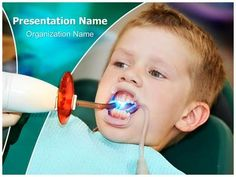 dental powerpoint template - free download | dental powerpoint, Modern powerpoint