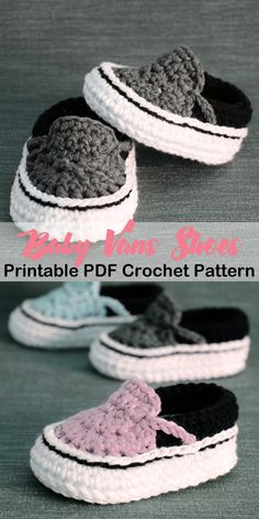 Make a cute pair of baby shoes. Baby Shoes Crochet Patterns – Baby Gift - A More Crafty Life Make a cute pair of baby shoes. Baby Shoes Crochet Patterns – Baby Gift - A More Crafty Life Baby Girl Crochet, Crochet Baby Shoes, Crochet Baby Clothes, Crochet For Boys, Newborn Crochet, Crochet Baby Outfits, Baby Shoes Pattern, Shoe Pattern, Baby Patterns