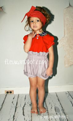 Cute little girl outfit