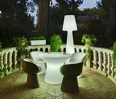 La lámpara puede ser un elemento decorativo más - Leroy Merlin