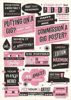 Posters, prints & illustration…Telegramme Studio | Cherry Blog