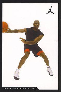 61d9b6ee6d7 History of Air Jordan Retro Cards Air Jordan Xii