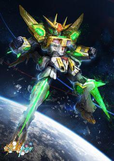 GBF:T Star Winning Gundam by theDURRRRIAN.deviantart.com on @DeviantArt