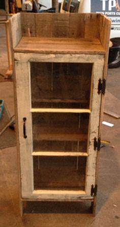 Pallet cupboard