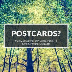 Are you still sending postcards? Here's a cheaper way to farm you real estate communities that can have a lasting impact on the future of your business