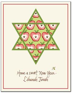83 best jewish new year images on pinterest judaism new year card bonnie marcus collection jewish new year cards apple star of david stationery m4hsunfo