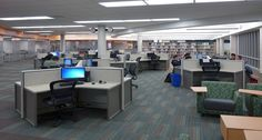 Kay-Twelve.com Create space for students with this layout for media centers.