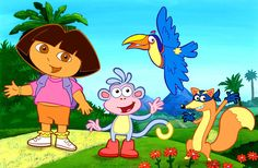 Play dora the explorer Games for kids at your favourite destination for Cartoon and Hero Games. Find the best dora the explorer Games at Kids Games Heroes . Michael Bay, Nick Jr, Cartoon Gifs, Cartoon Characters, Dora Cartoon, Female Cartoon, Live Action, Dora Wallpaper, Teach Yourself Spanish