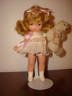 "Nancy Ann storybook doll, ""Goldylocks"", marked ""America"" #NancyAnn"