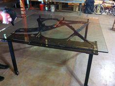Piano Table Piano Table, Repurposed Furniture, Furniture Ideas, Lamps, Create, Design, Home Decor, Art, Lightbulbs