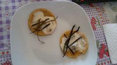 Polenta gorgonzola e melanzana croccante