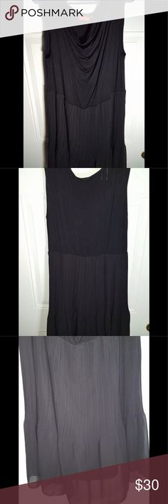 """Elle Little Black Dress 1X New dress that can easily become the little black dress.  The dress came with a belt but it is not included. Measurement approximations: length 42"""" and waist across 18"""".  Please see pictures! Elle Dresses"""