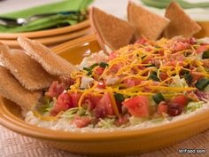 BLT Spread | mrfood.com - spread on toast or a variety of crackers or use as a dip with chips