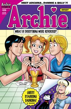 An Archie comics game changer! Man, I miss the days when the majority of my savings went to Archie comics. Archie Comics Riverdale, Old Comics, Vintage Comics, Archie Comic Books, Archie And Betty, Betty & Veronica, Josie And The Pussycats, Archie Andrews, Gender Swap