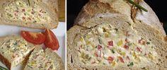 Recept Plněný chléb - nebíčko v tlamičce Muesli, Ricotta, Sandwiches, Treats, Chicken, Food, Sweet Like Candy, Goodies, Granola