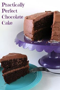Practically Perfect Chocolate Cake
