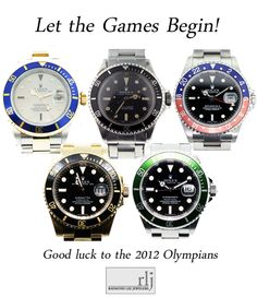 Today, there's really only one thing to say, and we're doing so with the help of some of our favorite Rolex Submariners.