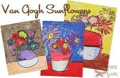 Van Gogh oil pastels