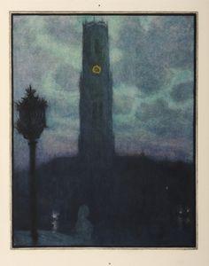 Georges Rodenbach & Lucien Levy Dhurmer Bruges La Morte Livre illustré 1930 Galerie Saint Georges - Julien Petit - Paris